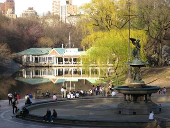 Cplakehouse in Central Park New York City