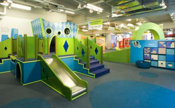 Children's Museum of Manhattan interior